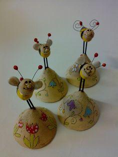 Clay Projects, Ceramics, Christmas Ornaments, Holiday Decor, Rocks, Animal, Home Decor, Ideas, Cold Porcelain