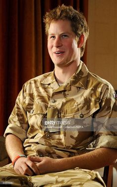Prince Harry talks about his forthcoming mission to Afghanistan at Clarence House on December 12, 2007 in London, England.