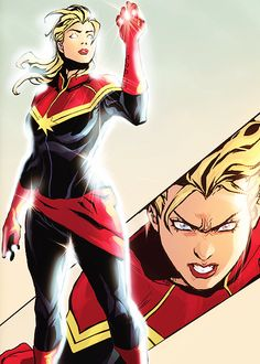 Carol Danvers in Captain Marvel (2012-2014) #08