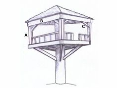Treeless Tree House - UBuild....step by step