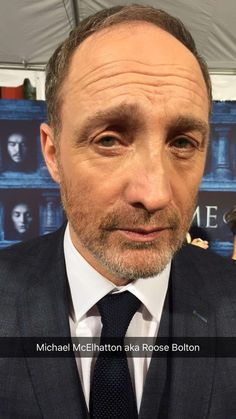 Michael McElhatton's alternative face for the Hall of Faces