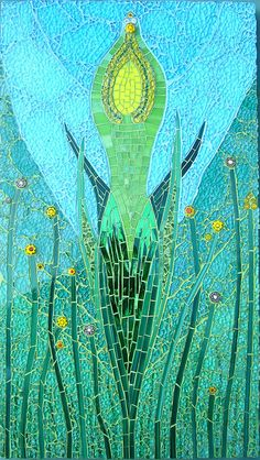Lady Of Spring by warnenatalie, via Flickr (Note the cracked safety glass used for background)