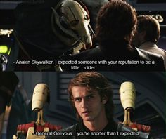 Anakin Skywalker this is like my favourite quote from the movie...