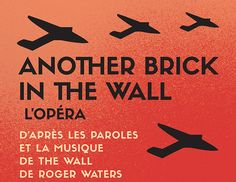 #AnotherBrickintheWall the Opera rocks #Montreal for the #375thanniversary