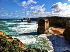 Twelve Apostles, Great Ocean Road - this was on an Australia board.