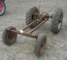 Yard Tractors, Small Tractors, Small Garden Tractor, Cub Cadet Tractors, Homemade Tractor, Little Truck, Dump Trailers, Metal Tools, Pedal