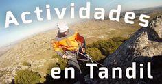 Actividades y Aventura en TANDIL Descubrilas en http://www.vivotandil.com/actividades-en-tandil.php