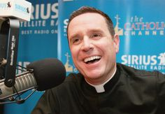 """Paulist Fr. Dave Dwyer hosts """"The Busted Halo Show"""" on The Catholic Channel on SiriusXM Radio."""