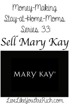 marykay1 How to Make Money Selling Mary Kay