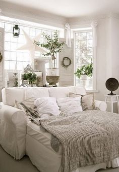 The couch that is deeper than the Norton Anthology of Poetry. | 30 Impossibly Cozy Places You Could Die Happy In