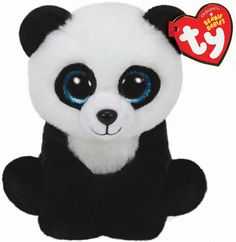 Pyoopeo Ty Beanie Babies Ming the Panda Bear Plush Regular Stuffed Animal Collection Soft Doll Toy with Heart Tag(China) Ty Beanie Boos Collection, Ty Peluche, Ty Stuffed Animals, Panda Stuffed Animal, Plush Animals, Farm Animals, Wild Panda, Ty Toys, Kids Toys