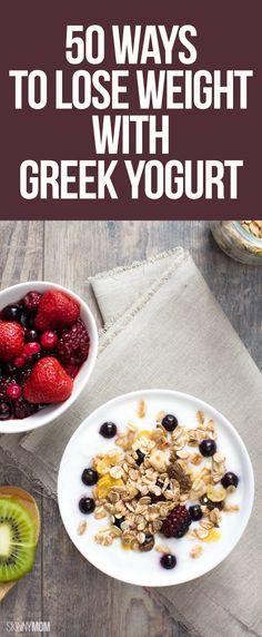 Greek Yogurt Hacks for Weight Loss Want to lose weight? Try these amazing uses for Greek yogurt!Want to lose weight? Try these amazing uses for Greek yogurt! Weight Loss Meals, Weight Loss Smoothies, Fast Weight Loss, Healthy Weight Loss, Lose Weight, Fat Fast, Healthy Snacks, Healthy Eating, Healthy Recipes