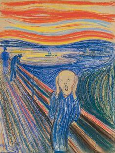 Edvard Munch - Der Schrei - 1895