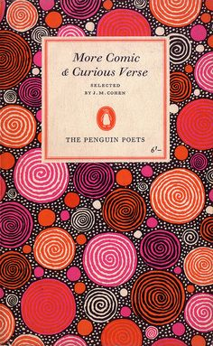 :: Series: The Penguin Poets - Designer: Hans Schmoller - Pattern by: Stephen Russ,1963 ::