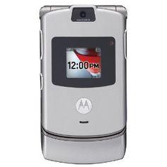 Motorola RAZR V3 Unlocked Phone with Camera and Video Player--U.S. Version with Warranty (Silver) --- http://www.amazon.com/Motorola-V3-Unlocked-Player--U-S-Warranty/dp/B0016JDE34/?tag=zaheerbabarco-20