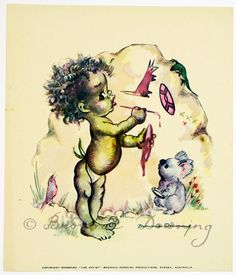 Print -indigenous Australian child 6 - Brownie Downing | Artist & Illustrator | Official Site