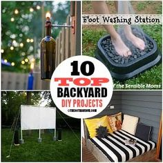 These DIY Backyard Projects are clever, affordable and easy to do. You can make them yourself and they are perfect for a weekend outdoors project. Are you ready for a quickbackyard makeover? I'm sure you'll find inspiration in these DIY ideas… Let's take a closer look!  Here they are! 1 DIY Porch Bed at …