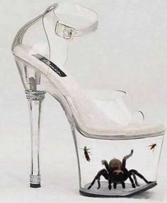 Hmmmm...... mayyybe......nope, couldn't do it, lol.  Crazy shoe trends
