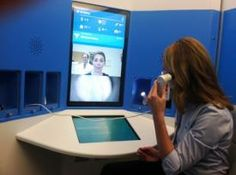 Take a look at a 5-by-8-foot device Ohio healthcare providers are hoping will keep non-urgent patients from clogging up emergency rooms and urgent care centers. University Hospitals is working with telemedicine company HealthSpot to expand the system's reach and give patients better, cheaper access to medical care after hours.