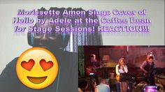 Morissette Amon Sings Cover of Hello by Adele at the Coffee Bean for Sta...