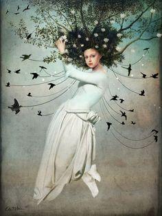 'Come fly with me' von Catrin Welz-Stein bei artflakes.com als Poster oder Kunstdruck