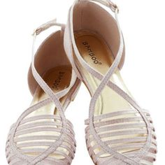 Shimmer in the City Flat | Mod Retro Vintage Sandals | ModCloth.com