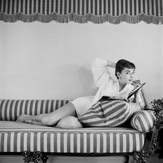 """she had a natural grace, an innate goodness, a dazzling splendor"" Cecil Beaton about Audrey Hepburn."