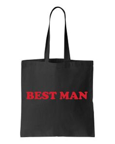 All Wedding Party Members! Riverstone Goods - Wedding Party Black Tote Bag (Red Cooper Print), $8.99 (http://www.riverstonegoods.com/wedding-party-black-tote-bag-red-cooper-print/)