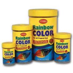 HBH Rainbow Color Flake Fish Food Ideal for all types of fishes, this HBH Rainbow Color Flake Fish Food is a perfect mix of color enhancing flakes for your fish.  at $7.49  http://www.bboescape.com/products/buy/500/pet-products/HBH-Rainbow-Color-Flake-Fish-Food-oz