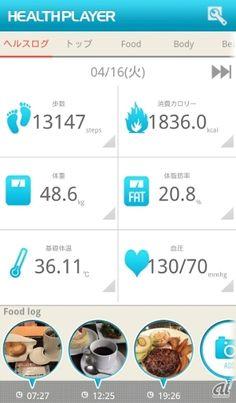 プラクテックス、スマホで健康データを管理するアプリのiOS版