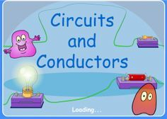In this interactive circuits & conductors activity, kids learn how different materials in a circuit can affect the flow of electricity