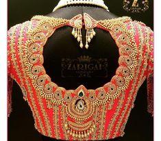 No photo description available. No photo description available. Saree Jacket Designs, Wedding Saree Blouse Designs, Pattu Saree Blouse Designs, Designer Blouse Patterns, Fancy Blouse Designs, Blouse Neck Designs, Lehenga Designs, Hand Work Blouse Design, Stylish Blouse Design