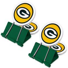 Green Bay Packers My Fan Clip 2-Pack