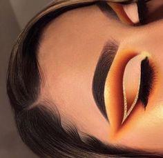 Dope Makeup, Makeup Eye Looks, Eye Makeup Art, Skin Makeup, Eyeshadow Makeup, Makeup Inspo, Awesome Makeup, Makeup Ideas, Makeup Tips