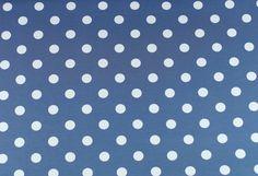 Stoff Punkte - 891 Jersey DOTS Blau Weiß - ein Designerstück von my-kati bei DaWanda