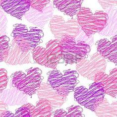 motif coeur: Valentine seamless