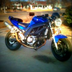 Suzuki SV650 waiting to run