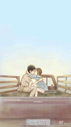 Descendants of the sun Songsong Couple, Manga Couple, Korean Art, Korean Drama, Korean Anime, Desendents Of The Sun, Descendants Of The Sun Wallpaper, Sun Art, Song Hye Kyo