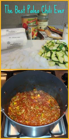 Whole30 Chili. Added sweet potatoes, red pepper and jalapeño. Would make again