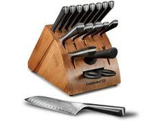 Katana Series Knife Block Set (18-pc.) by Calphalon by Calphalon at Chef Knife Guru #chefknifeguru