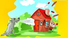 Los Tres Cerditos y El Lobo - Cuento Infantil - Para niños - # Spanish Teacher, Spanish Class, Good Music, Make It Yourself, Students, Youtube, Baby Goats, Plays, Storytelling