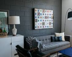 Image Result For Painting Cinder Block Wall Ideas Blocks Walls Concrete