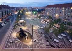 Superkilen park by BIG, Topotek1 and Superflex