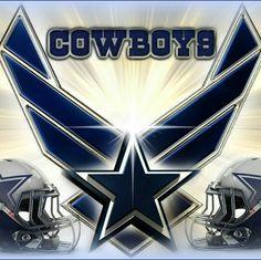 Air Force & Cowboys Pride