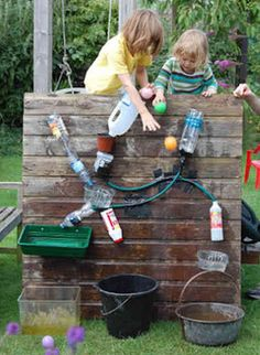 Creative outdoor activity for kids idea