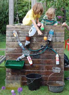 Creative outdoor activity for kids idea