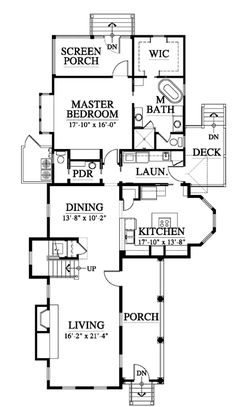 allison ramsey architects | floorplan for the radcliffe - 1738