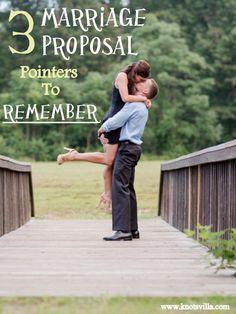 Marriage Proposal Tips | #WeddingChatter - KnotsVilla