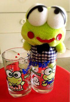 Keroppi glasses&doll'92