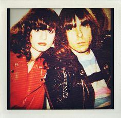 Johnny Ramone Linda Ramone luv this 1980❤️❤️